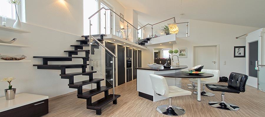 Treppe-Innenausbau-Holzbau